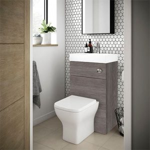 combination WC and sink vanity unit
